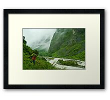 The Mood of Nature Framed Print