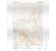 USGS Topo Map Washington Zangar Junction 244839 1964 24000 Poster