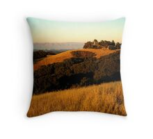 Californian Hills Throw Pillow