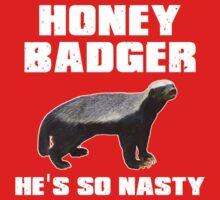 Honey Badger He's So Nasty
