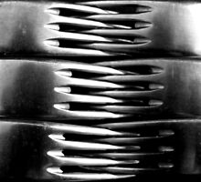 Forks Interlocked - Still Life by Victoria limerick
