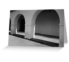 Arches with Light Greeting Card