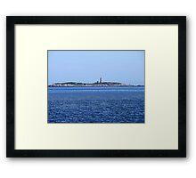 Sambro Island Light (01) Framed Print