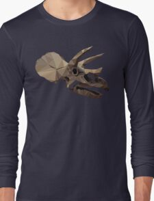 Polygon Triceratops Long Sleeve T-Shirt