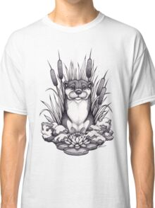 Otter & Aquatic Plants Classic T-Shirt