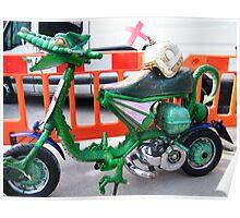 Dragon Custom Scooter Poster