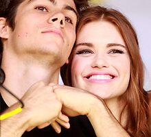 Dylan O'Brien and Hollan Roden Comic Con by hotteaissy