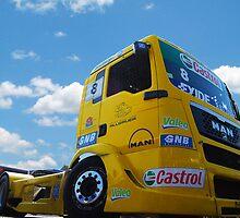 Race Truck by Tony Dewey