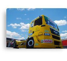 Race Truck Canvas Print