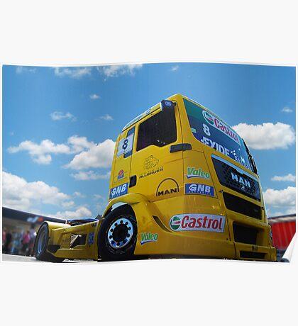 Race Truck Poster