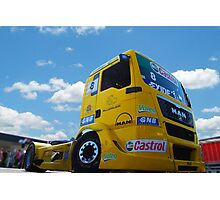 Race Truck Photographic Print