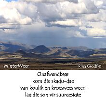 WinterWeer by Rina Greeff