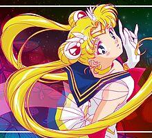 Super Sailor Moon by neocrystaltokyo