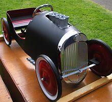 """""""Custom Hot Rod Pedal Car"""" by waddleudo"""
