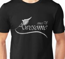 Awesome Since 1978 Unisex T-Shirt