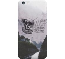 """All Time Low - Therapy """"I'm a walking travesty, but I'm smiling at everything"""" iPhone Case/Skin"""