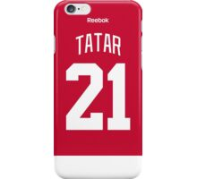 Detroit Red Wings Tomas Tatar Jersey Back Phone Case iPhone Case/Skin