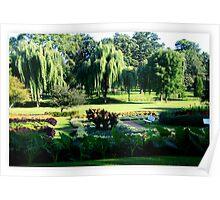 Beautiful Sunken Garden Poster