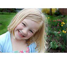 Victoria H. - Easter 2011 Portrait Photographic Print