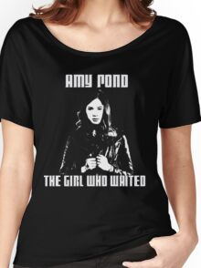 Amy Pond The Girl Who Waited Women's Relaxed Fit T-Shirt