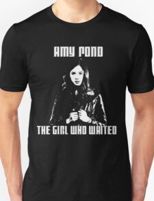 Amy Pond The Girl Who Waited T-Shirt