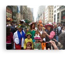 Easter Sunday on the 5th Avenue Metal Print