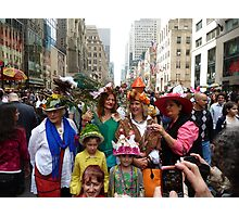 Easter Sunday on the 5th Avenue Photographic Print