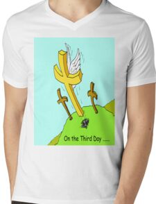 On the Third Day Mens V-Neck T-Shirt