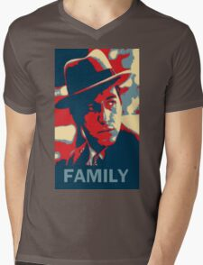 Corleone Family Mens V-Neck T-Shirt