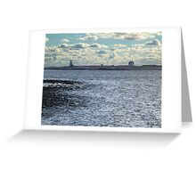 Devil's Island Lighthouse Greeting Card