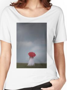 Red parasol Women's Relaxed Fit T-Shirt