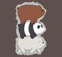 We Bare Bears Bearstack Kids Clothes