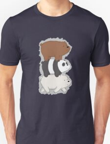 We Bare Bears Bearstack T-Shirt