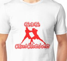 Toe to Toe Mixed Martial Arts Red Unisex T-Shirt