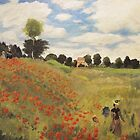 Poppy Field near Argenteuil by Gary Adams