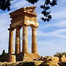 Tempio dei Dioscuri, Valley of the Temples, Agrigento, Sicily by Andrew Jones