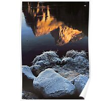REFLECTION IN MERCED RIVER Poster