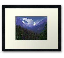 Tonquin Valley Framed Print