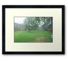 Rainy, Rainy Day Framed Print