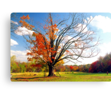 The Gina Tree Canvas Print