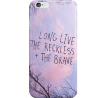 All Time Low - Reckless and the Brave iPhone Case/Skin