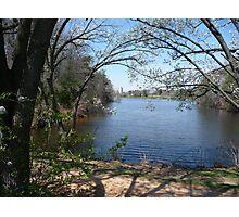 Spring on Greenbelt Lake 1 Photographic Print