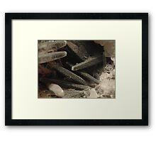 The Hidden Land – Abandoned Mine Framed Print