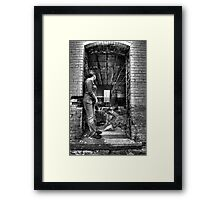 magic doorway Framed Print