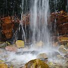 water flowing by janfoster