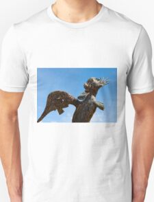 Bronze Statue, Valley of the Temples, Agrigento, Sicily Unisex T-Shirt