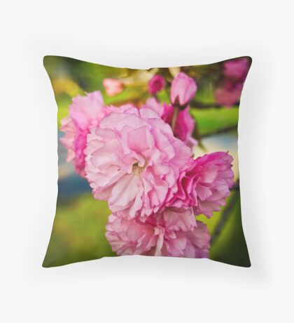 Blooms of Spring Throw Pillow