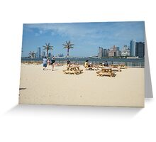 Governors Island, Water Taxi Beach, New York Greeting Card