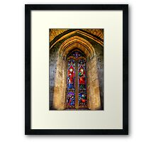 The Beautiful Art of Stained Glass Framed Print