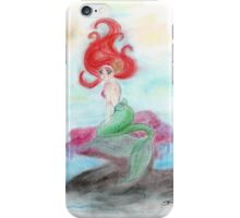 Red Mermaid iPhone Case/Skin